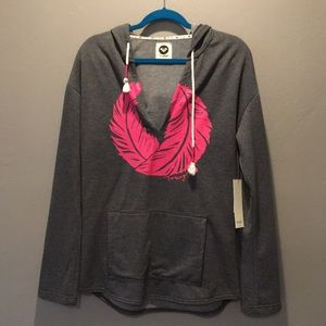 Roxy Hooded Pullover Tunic